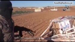 Yaraqlılar ABŞ-ın Kobanidə kürd qüvvələrə yardımını ələ keçirdiklərini deyirlər