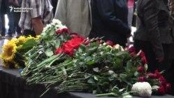 Memorial For Slain Journalist Sheremet