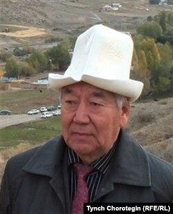 Бейше Молдогазиев Эчки-Башы айылында. Нарын району, Нарын облусу, Кыргызстан. 2012-жылдын 4-октябры.