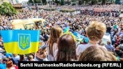Военный парад, посвященный 30-летию независимости Украины
