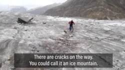 A Pakistani Woman's Pioneering Glacier Bike Trek