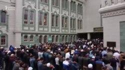 В Москве мусульмане празднуют Ид аль-Фитр