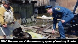 Наводнение в Хабаровском крае (архивное фото)