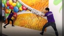 В Голливуде появился Музей иллюзий