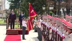 Борисов во официјална посета на Македонија