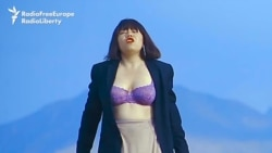 Singer's Feminist Video, Purple Bra Have Some Kyrgyz Seeing Red