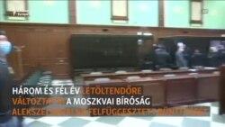 """""""Vlagyimir, az alsónadrág mérgező"""" - mondta Navalnij a bíróságon"""