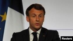 Франция президенти Эммануэль Макрон