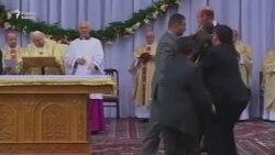 Roma Papasının 2002-ci ildəki Bakı səfərindən görüntü