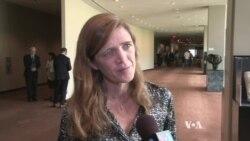 U.S. Ambassador Power Criticizes Srebrenica 'Genocide Deniers'