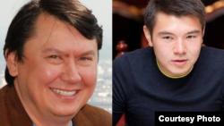 Бывший зять президента Казахстана Рахат Алиев (слева) и рожденный в его браке с Даригой Назарбаевой сын Айсултан Назарбаев.