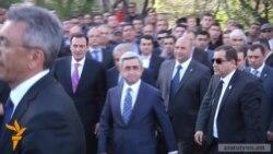 Սերժ Սարգսյան. Ժամանակն է փոխել քաղաքական կյանքի մթնոլորտը
