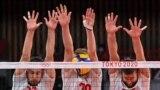 Волейбольний матч між Польщею і Венесуелою під час Олімпійських ігор 2020 року в Токіо. Ілюстративне фото
