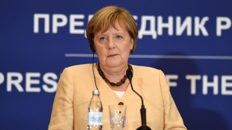 EU Integration Tops Agenda Of Merkel's Farewell Trip To Balkans