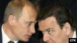 Владимир Путин и Герхард Шрёдер: кто обсуждал вопрос о займе?