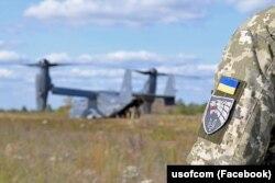 Під час навчань із залученням американського конвертоплана Osprey