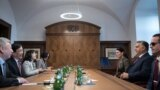 Orbán Viktor a Fudan egyetem vezetőivel
