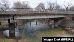 Река Узунджа, январь 2021 года