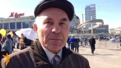 Коммунист Роберт Садыков беренче май митингы турында