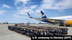 La Kiev se descarcă ajutor militar american, 17 iunie 2020