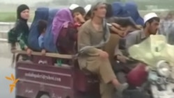 Afghans Flee Kunduz As Battle Rages