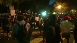 Demonstranti ispred Bele kuće