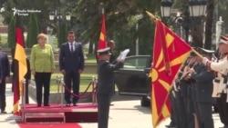 Angela Merkel u Skoplju
