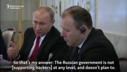 Putin Denies Russian State Involved In Hacking