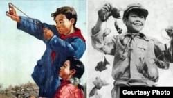 Борьба с воробьями в Китае. Начало 1960-х