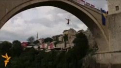 Divers Compete In Annual Mostar Bridge Jump