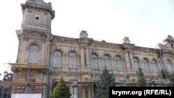 Бывшая школа-гимназии № 2 имени Короленко, 27 декабря 2020 год