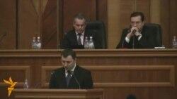 Premierul Filat prezintă programul guvernului