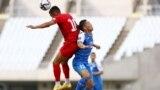 KYRGYZSTAN - JAPAN - football - sport - The national football team of Kyrgyzstan plays against the national team of Mongolia. The masts of the two national teams took place in Osaka, Japan. June 7, 2021. In this match, the national team of Kyrgyzstan lost