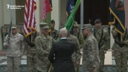 U.S. General Nicholson Takes Command Of Forces In Afghanistan