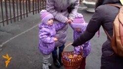 У Дніпропетровську відроджують давні традиції колядування просто неба