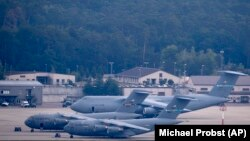 Among the planned targets were U.S. military bases in Germany. (file photo)