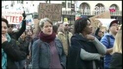 В Нью-Йорке проходят массовые протесты против избрания Трампа президентом США