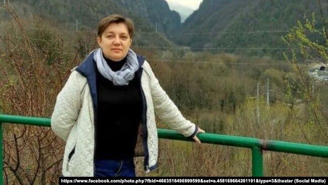 Учительница гимназии № 1 Симферополя Светлана Химич