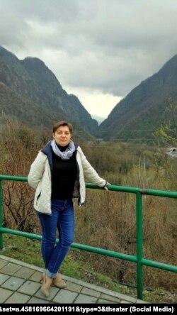 Світлана Химич, вчителька гімназії № 1 Сімферополя, фото з мережі «Фейсбук»