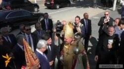 Գյումրիում օծվեց Հայ կաթողիկե Սրբոց Նահատակաց առաջնորդանիստ եղեկեղեցին