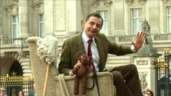 Містэр Бін адзначыў 25-годзьдзе пэрсанажа візытам у Букінгемскі палац
