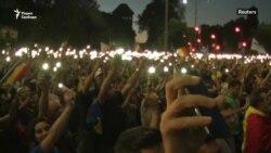 400 пострадавших в протестах в Бухаресте