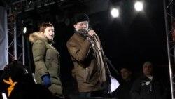 Митинг на Пушкинской: Романова и Прохоров