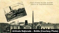 Fabrica de orez, Brăila, 1904.