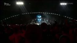 Вакарчук на концерті закликав звільнити Сенцова та ув'язнених у Росії українців – відео