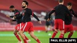 Liverpool FK məşq zamanı