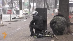 Snipers Pin Down Protesters, Journalists In Ukraine's Capital