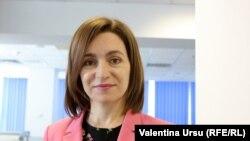 Președinta Maia Sandu în redacția Europei Libere, Chișinău, 23 iunie 2021