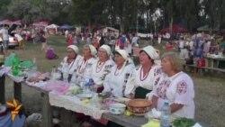 Flower Wreaths And Fire-Jumping At Ukrainian Midsummer Fest