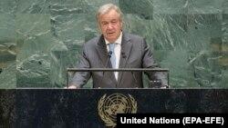 انتونیو گوترش منشی عمومی سازمان ملل متحد